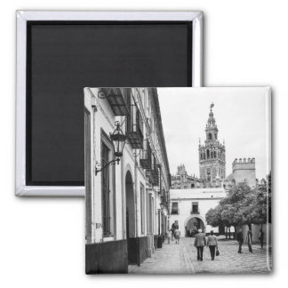 Giralda Magnet: Seville Square Magnet
