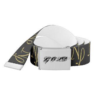 Girdle NL GOLD Belt