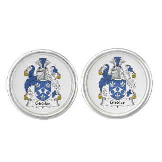 Girdler Family Crest Cufflinks