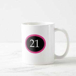 Girl 21 Happy 21st Birthday Mugs