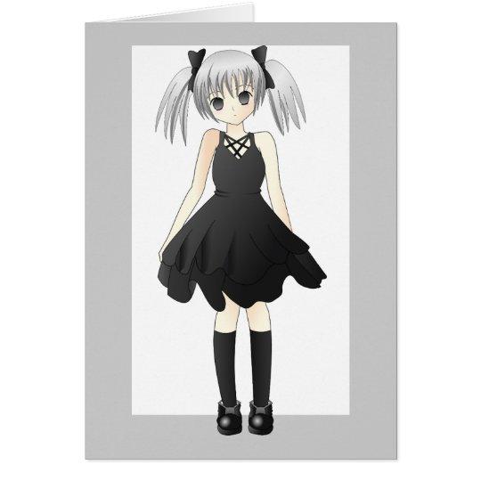 girl-309514 CUTE ANIME GOTH GOTHIC EMO STYLISH FA