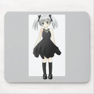 girl-309514  CUTE ANIME GOTH GOTHIC EMO STYLISH FA Mouse Pad