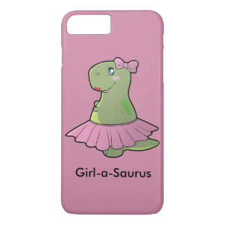 Girl-a-Saurus Dinosaur T-Rex Phone Cover