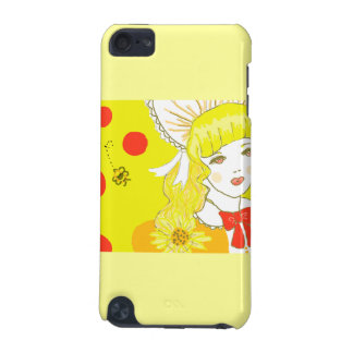 Girl and Buzzing Bee iPod Touch (5th Generation) Case