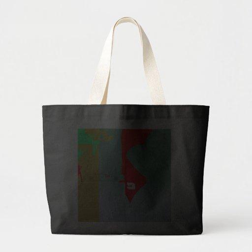 Girl and get away canvas bag
