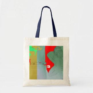 Girl and get away bag