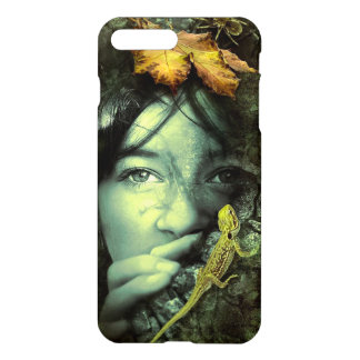 Girl and Lizard iPhone 8 Plus/7 Plus Case