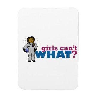 Girl Astronaut 2 Vinyl Magnets