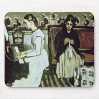 Girl at the Piano , 1868-69 Mouse Pad