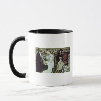 Girl at the Piano , 1868-69 Mug