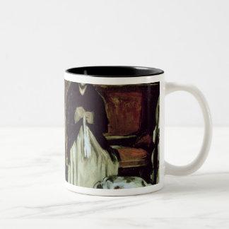 Girl at the Piano , 1868-69 Two-Tone Mug