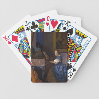 Girl at the Piano Poker Deck