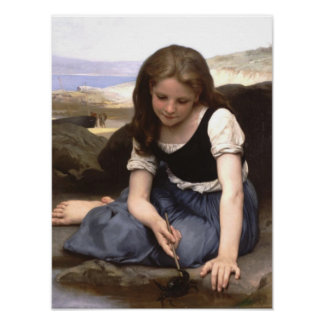 Girl at the Seashore Posters