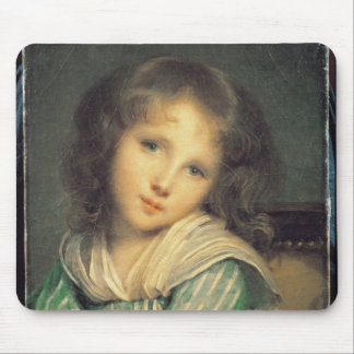Girl at the Window Mouse Pad