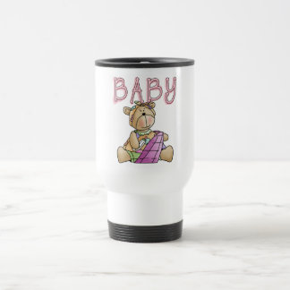 Girl Baby Bear Tshirts and Gifts Stainless Steel Travel Mug
