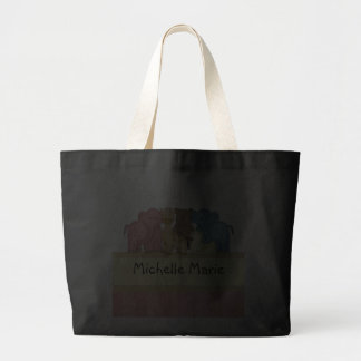 Girl Baby or Toddler Personalized Travel Tote Bag