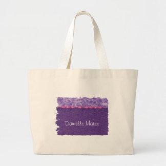 Girl-baby shower tote bag