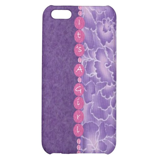 Girl-baby shower iPhone 5C covers