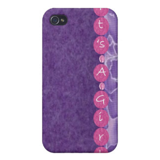Girl-baby shower covers for iPhone 4