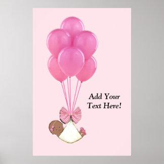 Girl Baby Shower Poster