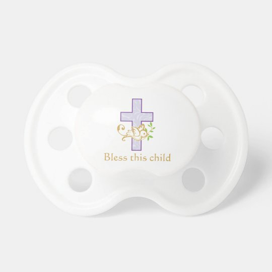 Girl Baptism | Personalised Pacifier