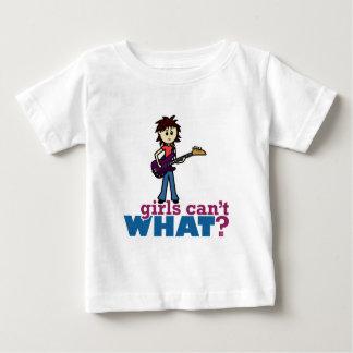 Girl Bass Guitar Player T-shirts
