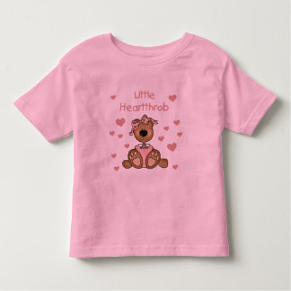Girl Bear Little Heartthrob Toddler T-Shirt