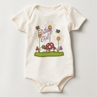Girl Birthday Bugs Baby Creeper