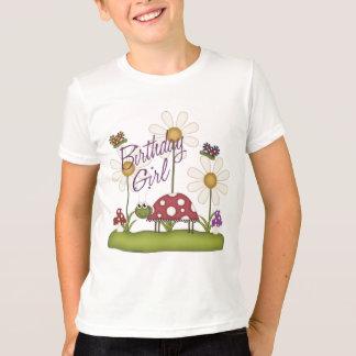 Girl Birthday Bugs T-Shirt