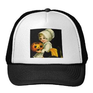 Girl & Black Cat Trucker Hat