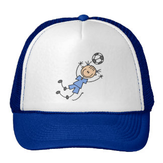 Girl Blue Soccer Uniform Tshirts and Gifts Cap
