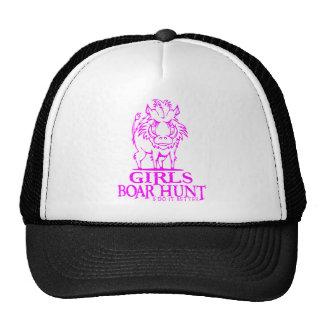 GIRL BOAR HUNTING MESH HAT