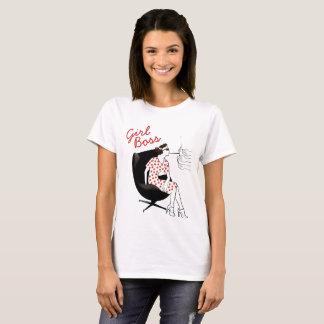 Girl Boss Retro Art Woman Power T-Shirt
