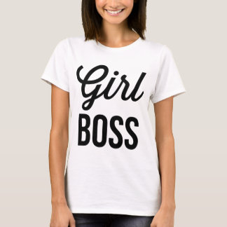 GIRL BOSS | Retro Typography Women's T-Shirt