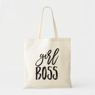 Girl Boss | Watercolor Tote Bag