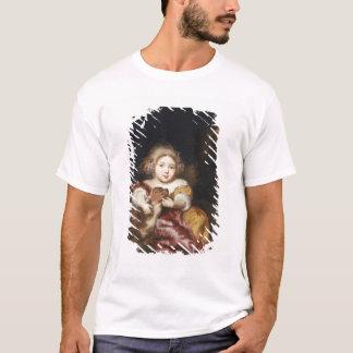 Girl Caressing a Fawn T-Shirt