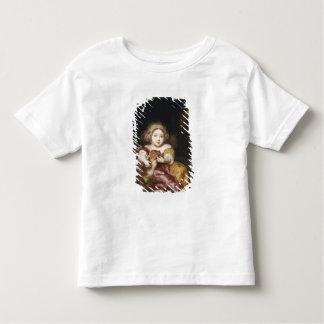 Girl Caressing a Fawn Toddler T-Shirt