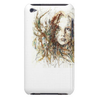 Girl Barely There iPod Case