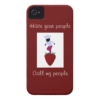 Girl Chef Blackberry Phone Cover iPhone 4 Cases
