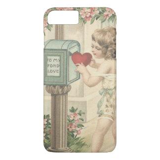 Girl Cherub Heart Cupid Mailbox Valentine iPhone 7 Plus Case
