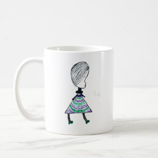 Girl Coffee Mug