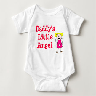 girl, Daddy's Little Angel T-shirts