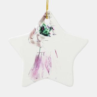 Girl dancer christmas ornaments