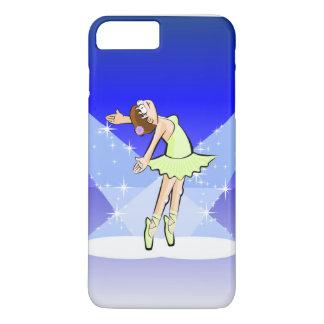 Girl dancing ballet under the illumination centers iPhone 7 plus case