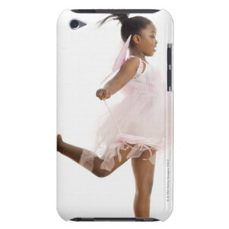 Girl dancing in fairy costume iPod touch cases