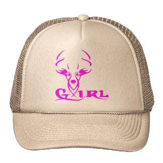 GIRL DEER HUNTER CAP