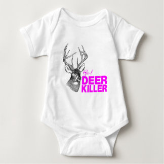 GIRL DEER KILLER BABY BODYSUIT