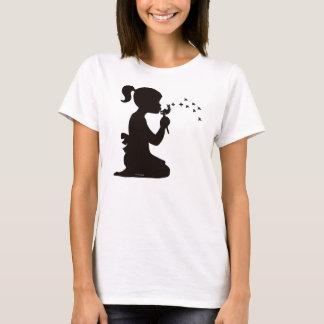 Girl Dispersing Dandelions T-Shirt