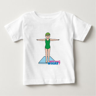 Girl Diver Baby T-Shirt