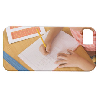 Girl doing homework barely there iPhone 5 case